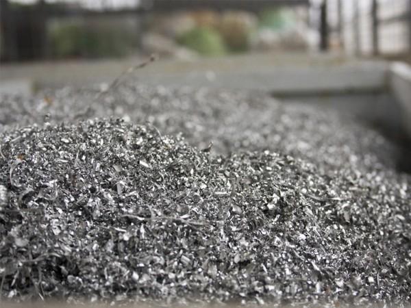 opiłki aluminium